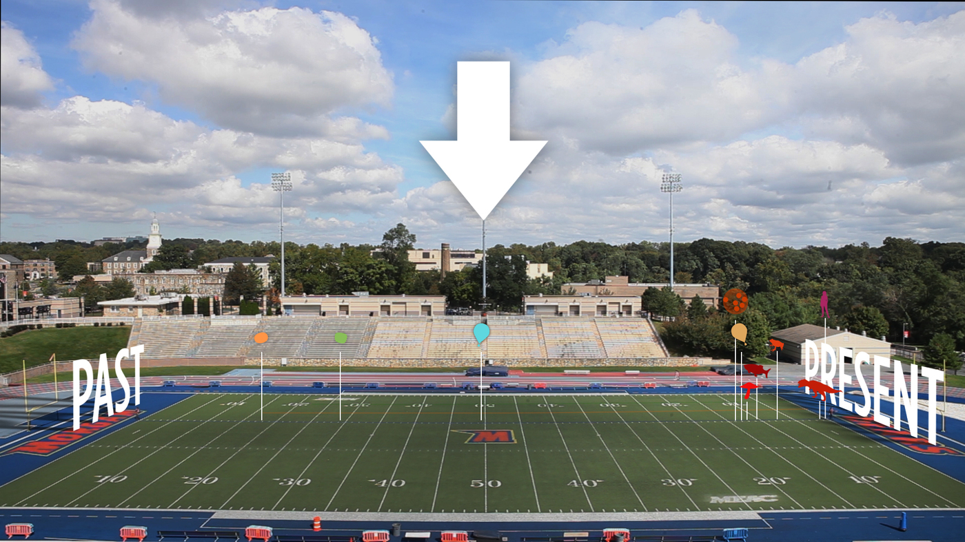 Video Lays Out Earth's History On A Football Field : NPR