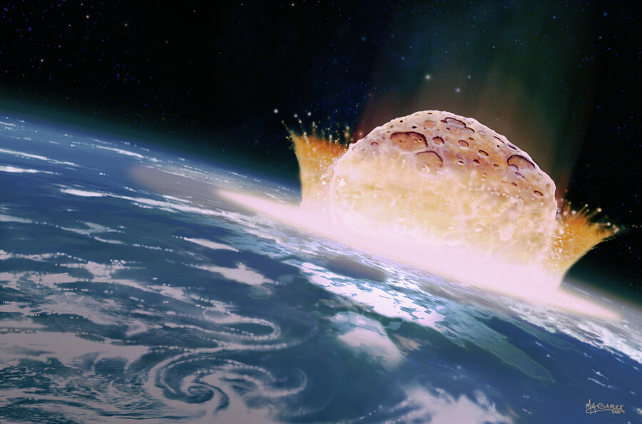 Image result for Did an Asteroid Impact Kill the Dinosaurs?