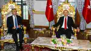 Stark Choice For NATO's Turkish Officers: Arrests At Home, Limbo In Europe