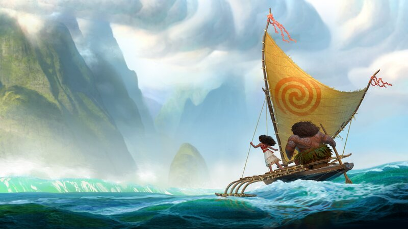 Movie Reviews: Disney's Moana Needs No Prince, Just The Land And ...