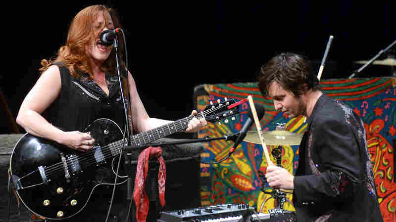 Shovels & Rope On Mountain Stage