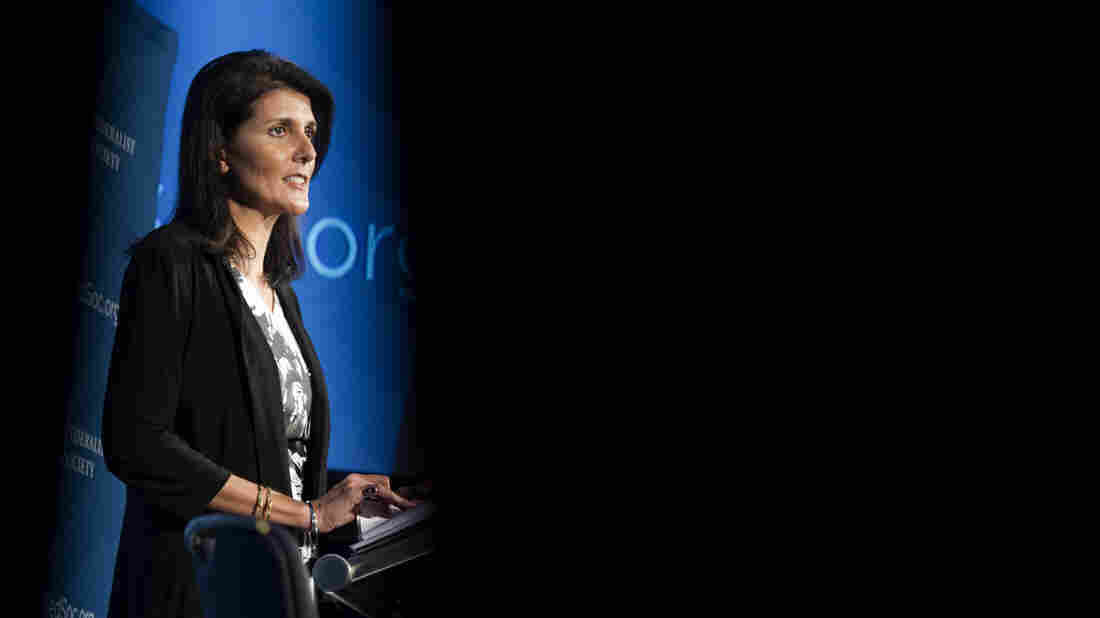 Trump picks SC Gov. Haley to be UN ambassador
