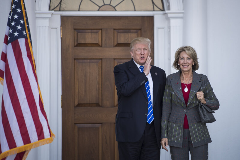Betsy Devos Trumps Education Pick Has >> Trump Chooses Betsy Devos For Education Secretary Npr Ed Npr
