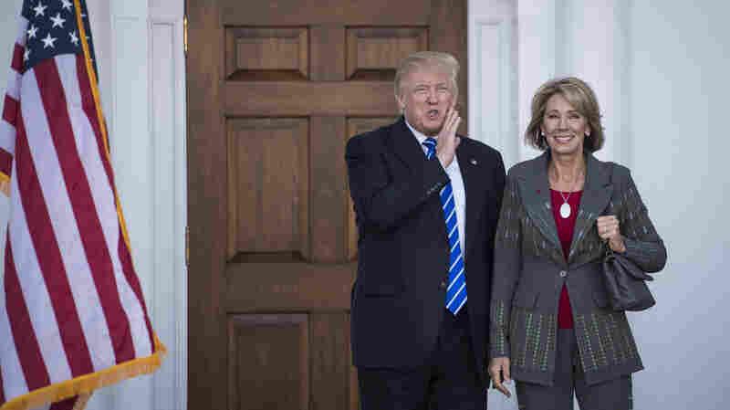 Trump Chooses Betsy DeVos For Education Secretary