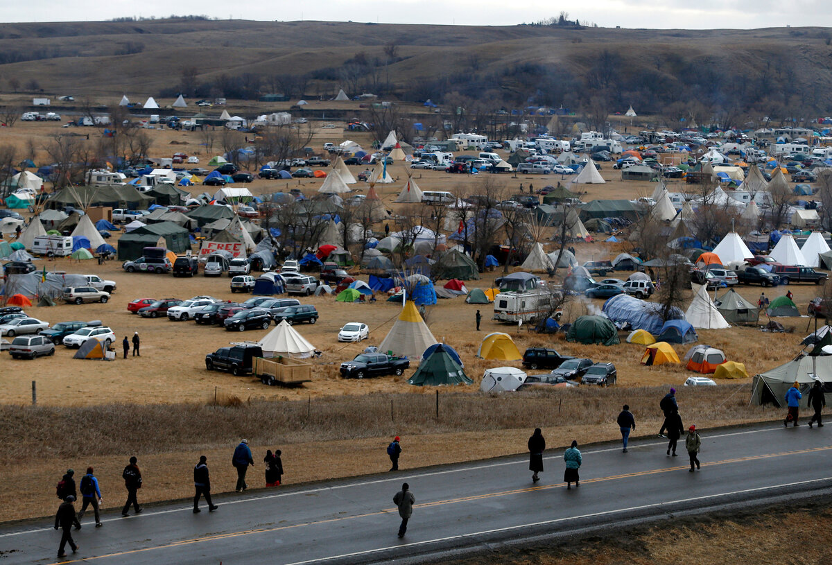 Dakota pipeline protests to end