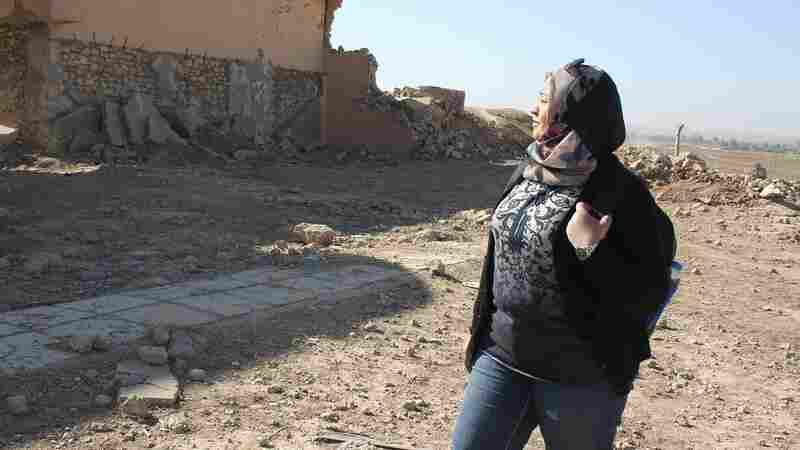 In Northern Iraq, ISIS Leaves Behind An Archaeological Treasure In Ruins