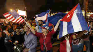 Mourning, Celebration Follow Death Of Fidel Castro