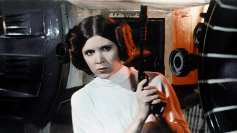 Word carrie fisher princess leia star wars excellent words