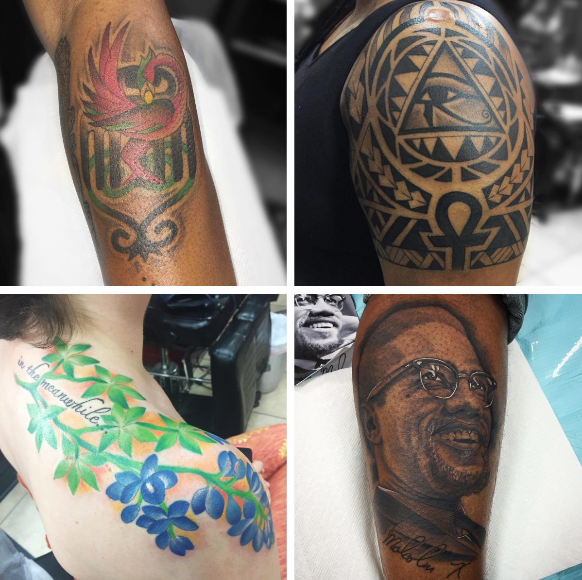 For Tattoo Artists Race Is In The Mix When Ink Meets Skin Code Switch Npr