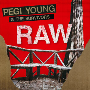 Image result for album art Pegi Young & The Survivors: Raw