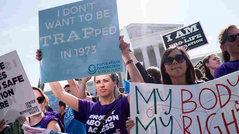 Abortion-Rights Groups Challenge Restrictions In 3 States