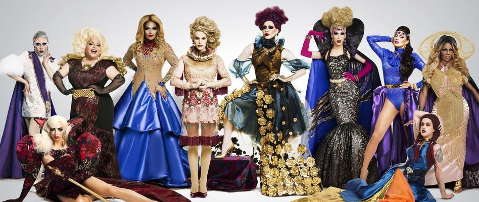 Behold the assembled contestants of <em>RuPaul's Drag Race All Stars</em>, Season 2. (World of Wonder/Logo)