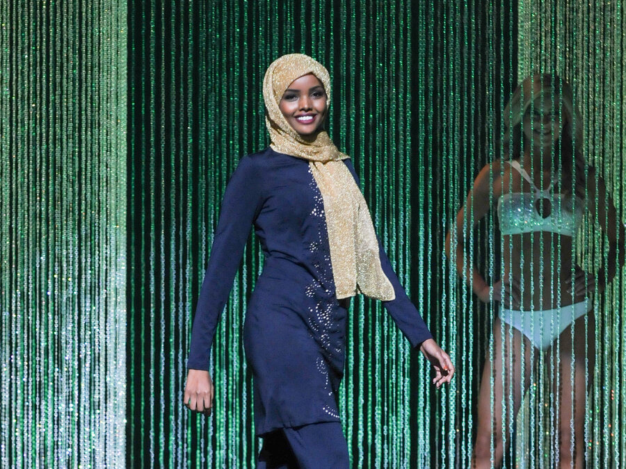 Image result for halima aden miss minnesota burkini