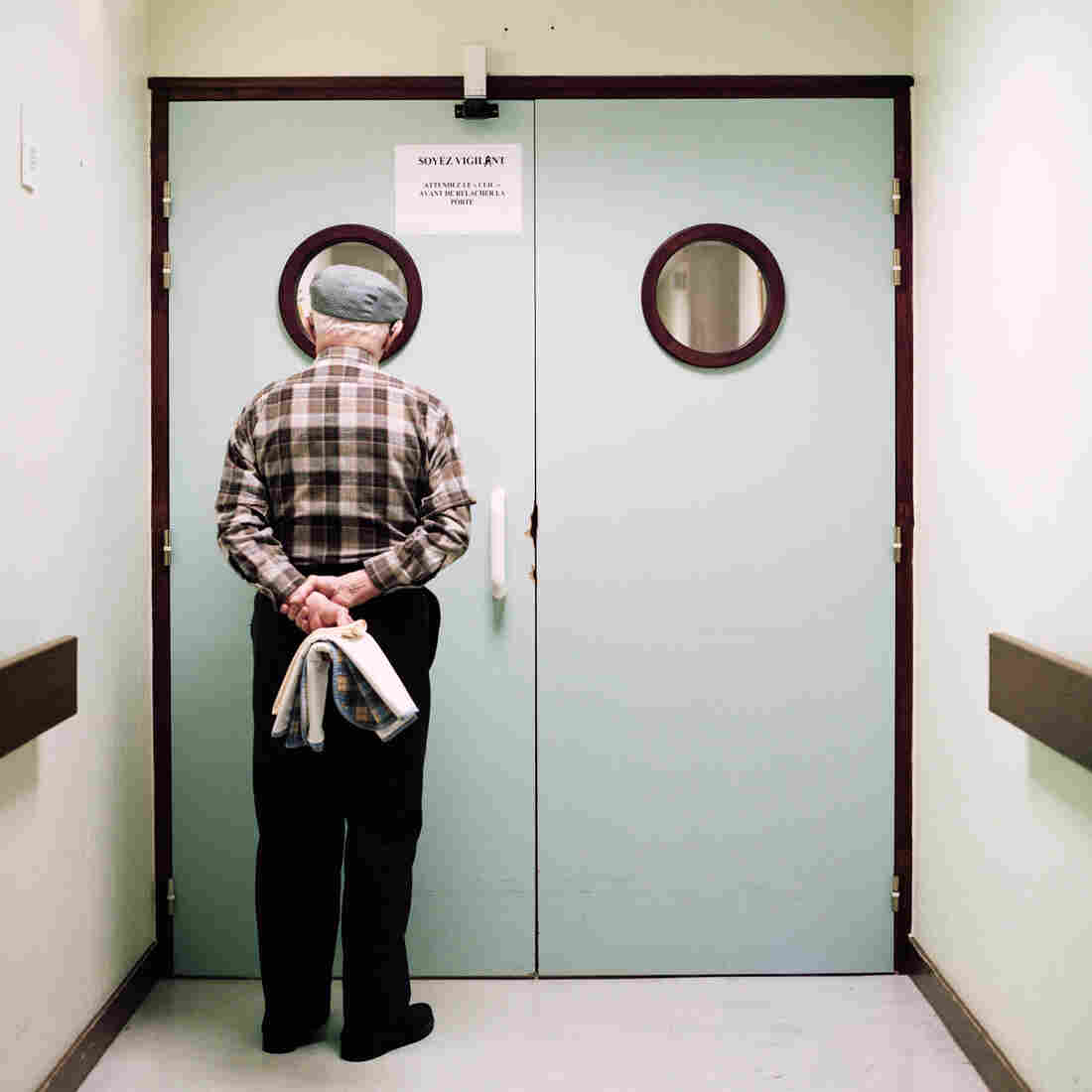 Maja Daniels' project, Into Oblivion, follows life inside a geriatric unit in France.