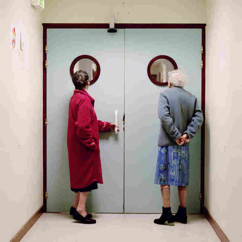 Daniels spent three years working on her project, Into Oblivion, which documents life inside a geriatric unit in France.