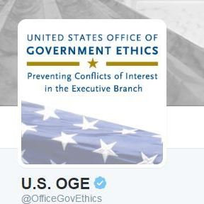 Image for Not A Hack: U.S. Office Of Government Ethics Tweets At Trump
