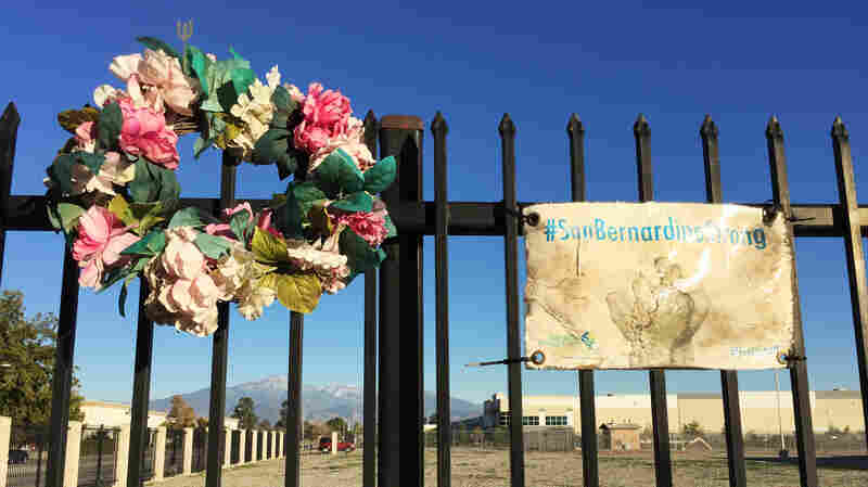 San Bernardino Shooting's Signs Have Faded, But Memories Remain Piercing