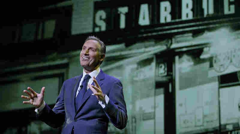 Starbucks Chairman Howard Schultz Steps Down As CEO