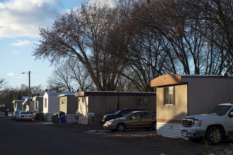 Park Plaza Mobile Home Park Thrives After Residents Create ... on 1980 color for kitchen home, america 1980s interior design home, start an assisted living home, 2000s manufactured home,