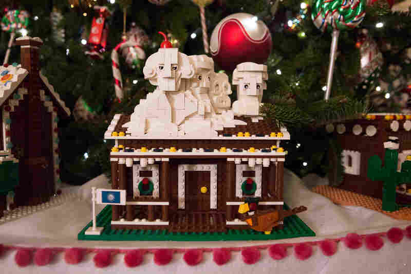 south dakotas gingerbread house features mount rushmore and is one of the 56 one of