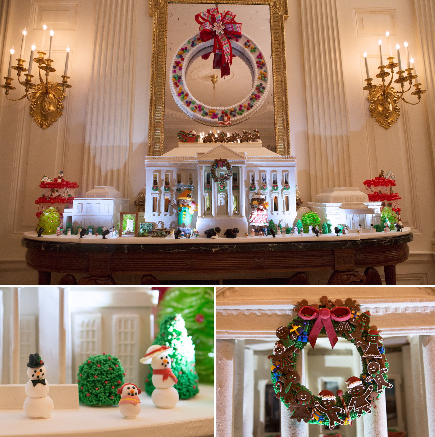 See What The Last Obama White House Holiday Decorations
