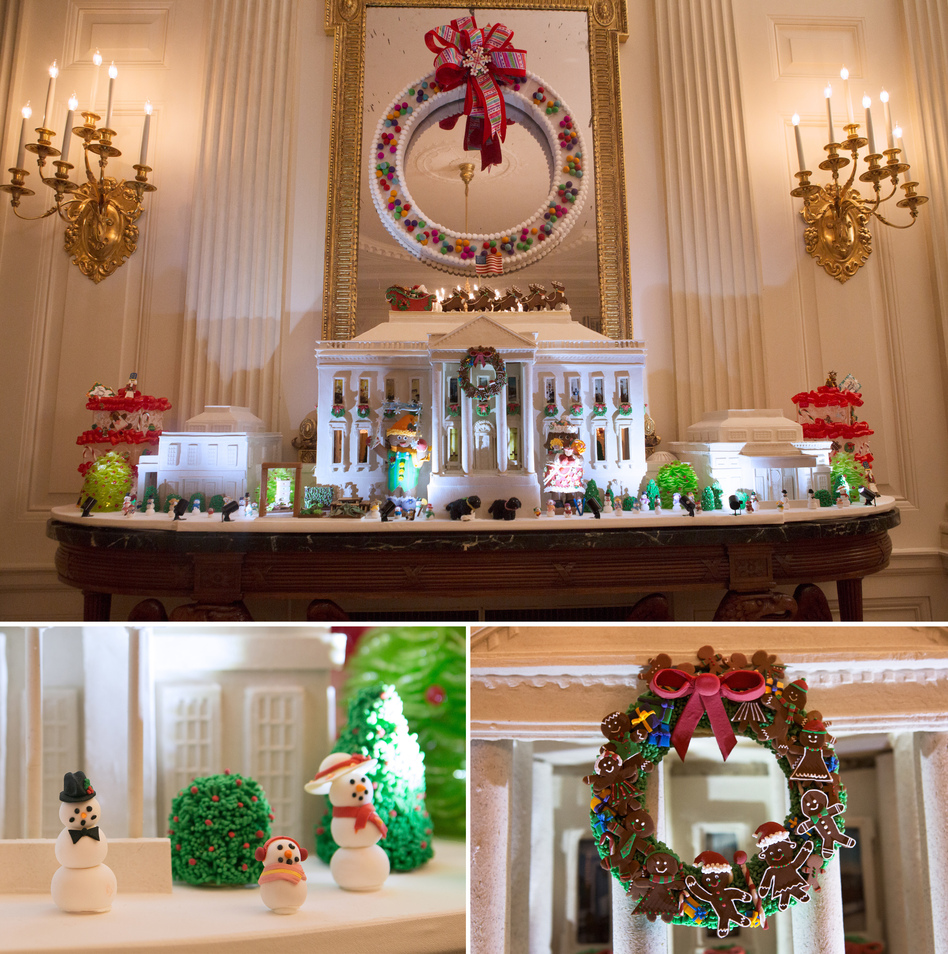 For The Holidays, The Obamas Open Up The White House One Last Time ...