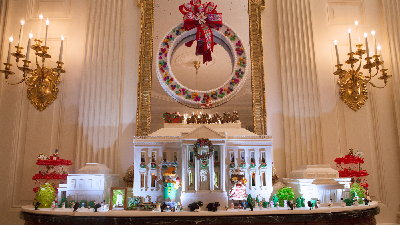See What The Last Obama White House Holiday Decorations Look Like : Obama White House Design on obama library design, trump white house design, obama campaign design,