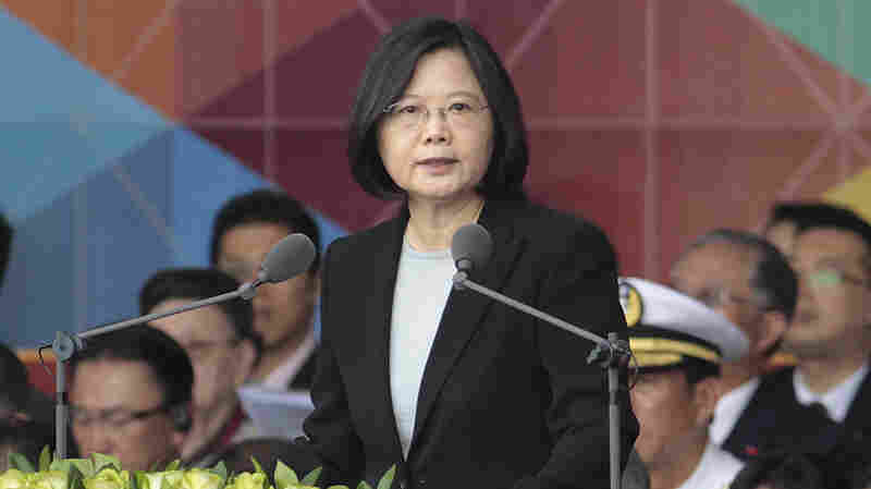Trump Speaks To Taiwan's President In Move Likely To Anger Beijing