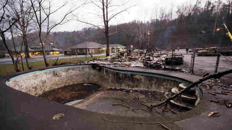 Emergency Evacuation Notice Arrived After The Flames For Some In Tennessee
