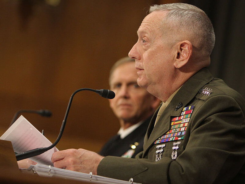 Former General James Mattis Will Need Congress To Waive Its Rules