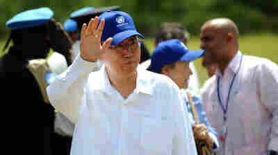 U.N. Finally Apologizes For Cholera In Haiti ... But Omits One Point