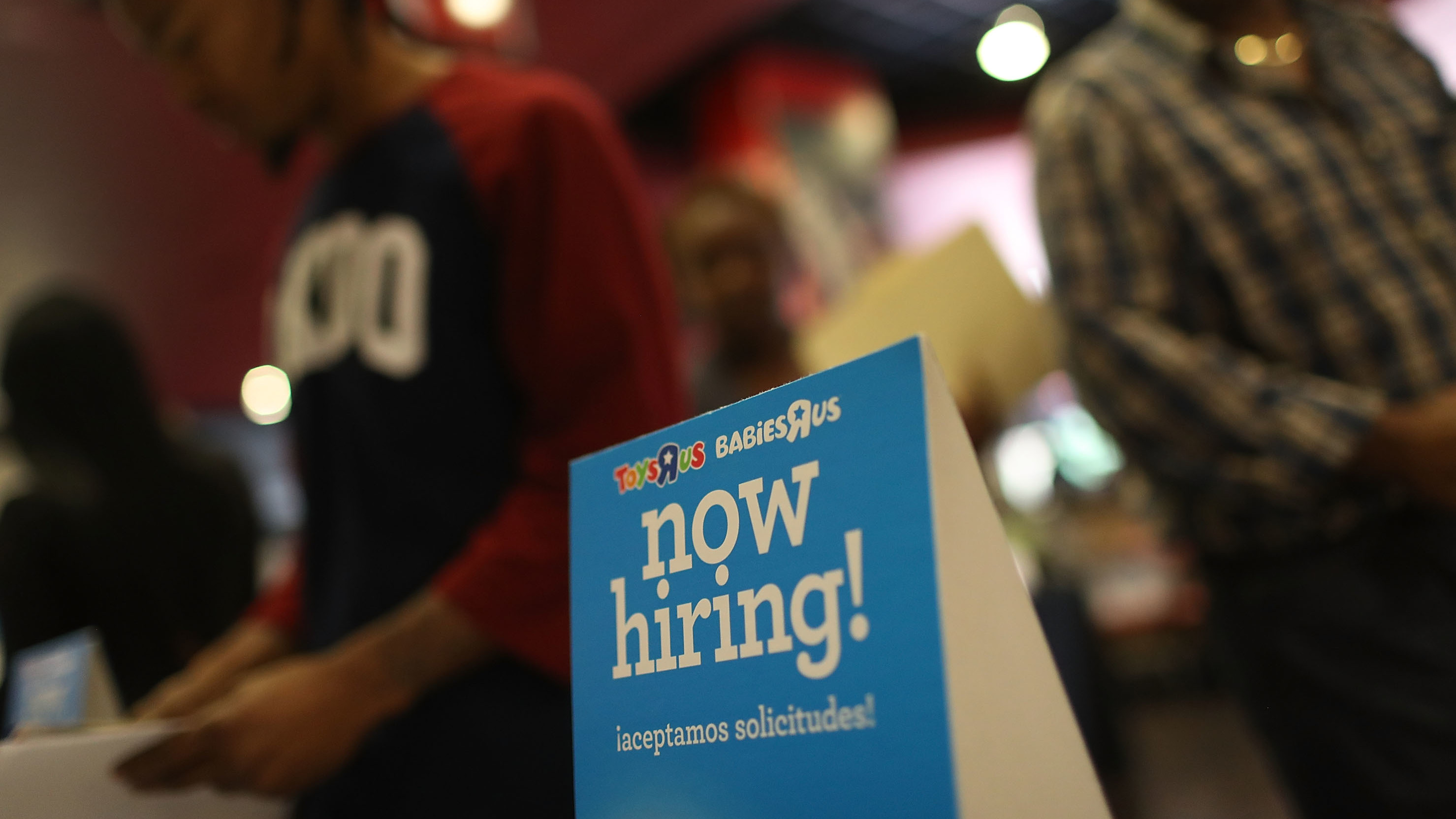 Unemployment rate tumbles to a 9-year low