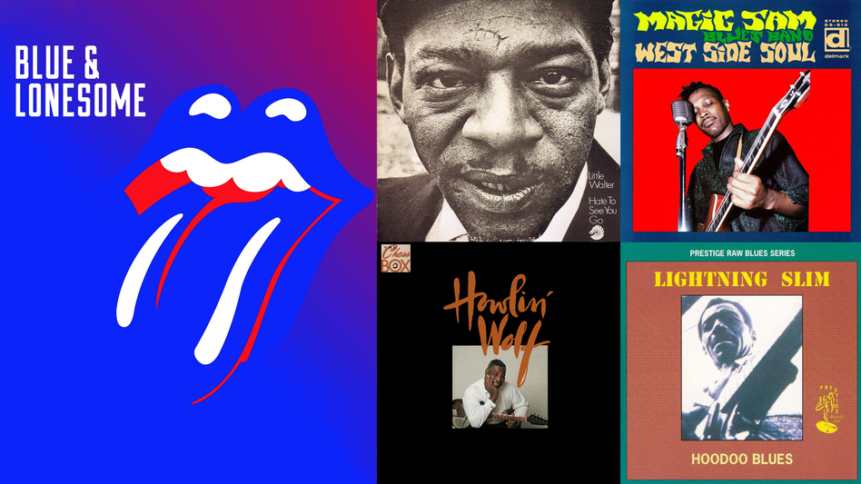 Hear songs from The Rolling Stones' Blue & Lonesome and these other albums in this playlist. (Courtesy of the artists)