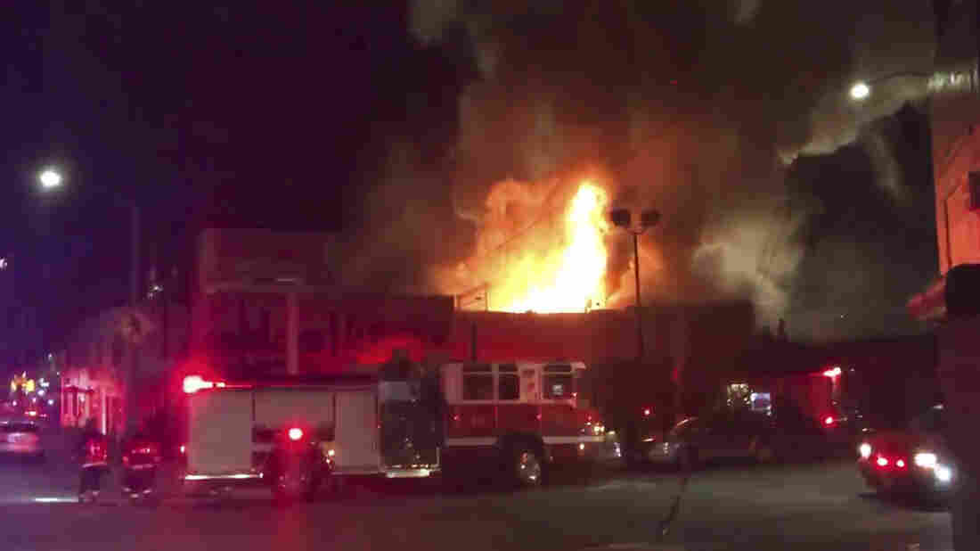At Least 9 Killed In Oakland Fire During Warehouse Party