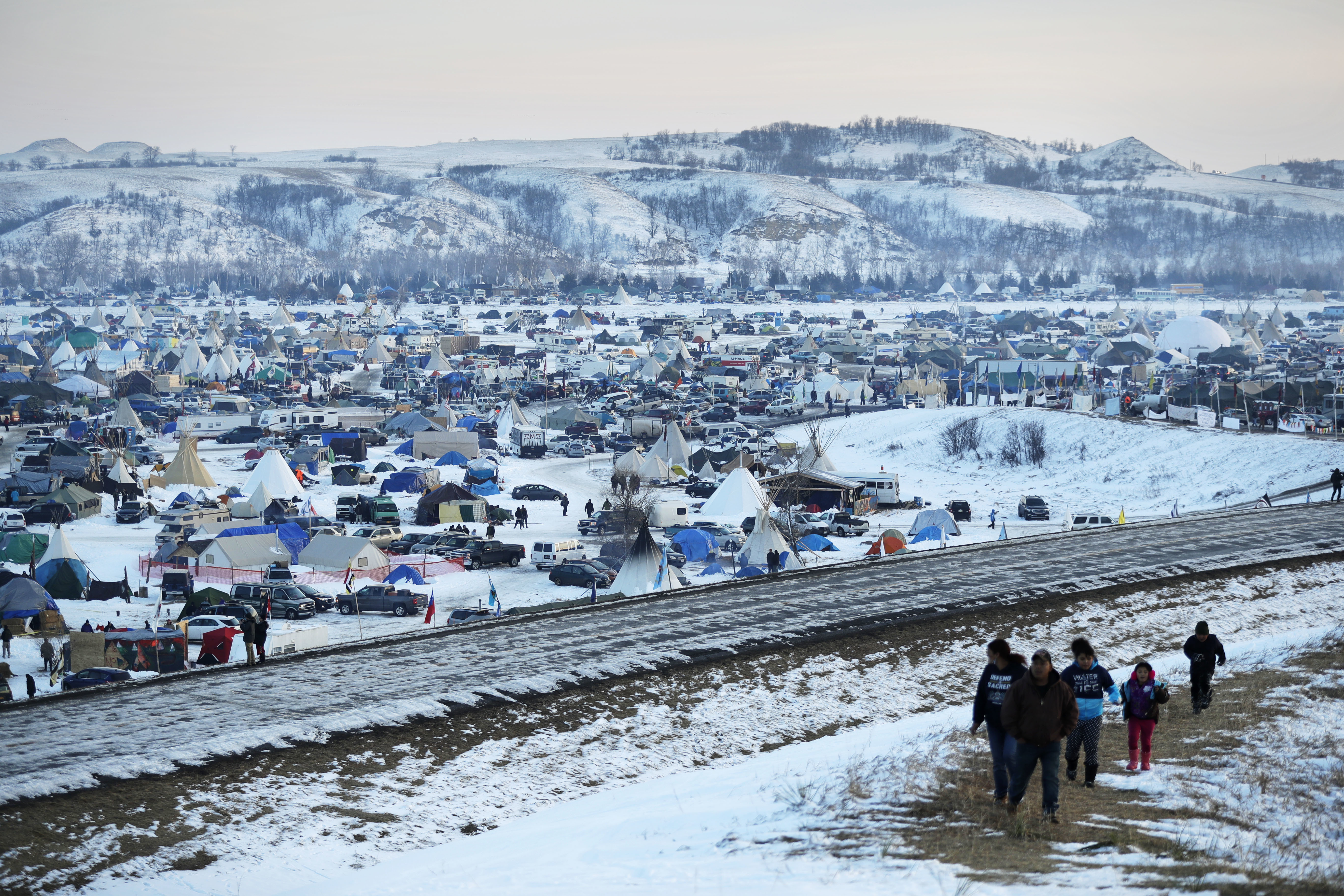 In Victory For Protesters, Army Halts Construction Of Dakota Pipeline