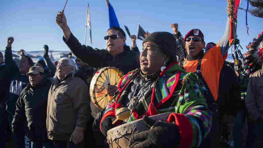 In Victory For Protesters, Army Halts Construction On Dakota Pipeline