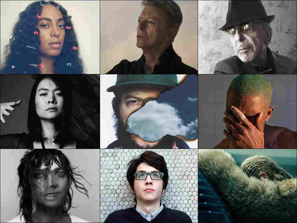 All Songs Considered: The Year In Music 2016 : All Songs