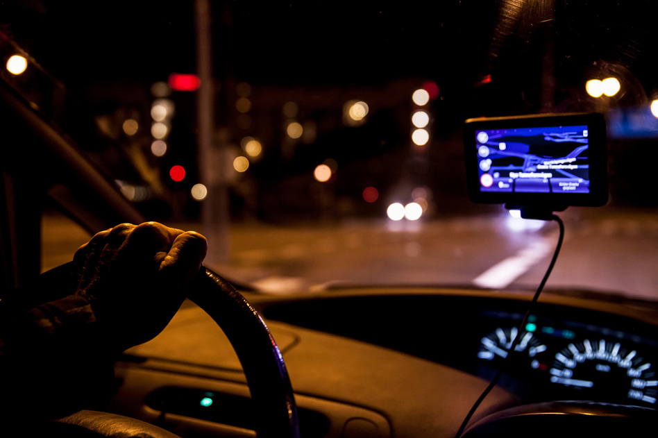 If you haven't had at least seven hours of sleep in the last 24, you probably shouldn't be behind the wheel, traffic safety data suggests. (Katja Kircher/Maskot/Getty Images)
