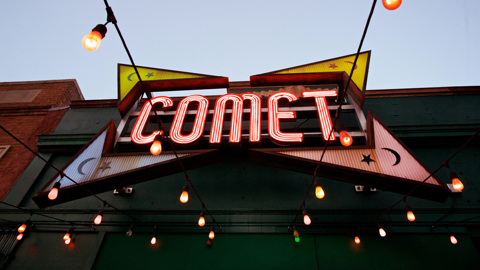Comet Ping Pong, a pizzeria in Washington, D.C., has been made the center of a bizarre online conspiracy theory — with real-world consequences. (The Washington Post/Getty Images)