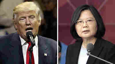 Taiwan's President: Phone Call With Trump 'Doesn't Mean A Policy Shift'