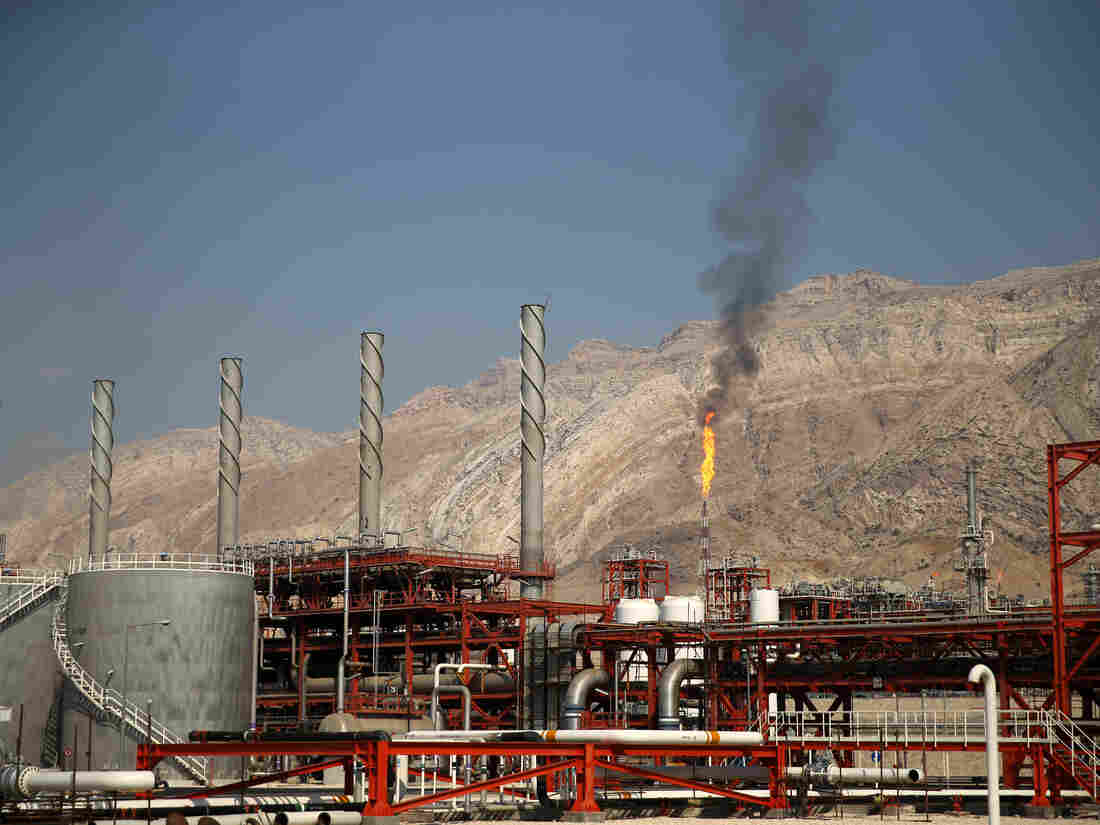 Shell to Study Iranian Giant