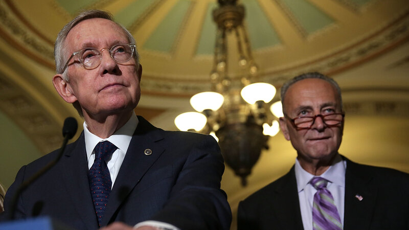 Retiring Sen Harry Reid Trump Not As Bad As I Thought He Would Be Npr