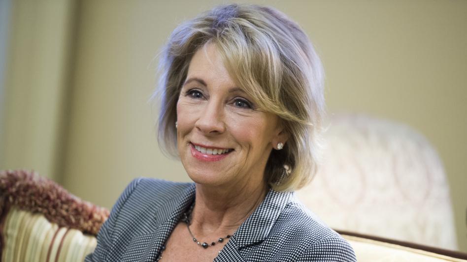 Betsy DeVos, nominee for education secretary. (Tom Williams/CQ-Roll Call,Inc.)