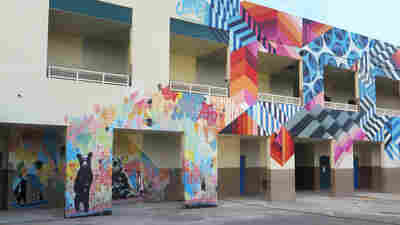Art That Transformed A Miami Neighborhood Now Making Its Schools Cool