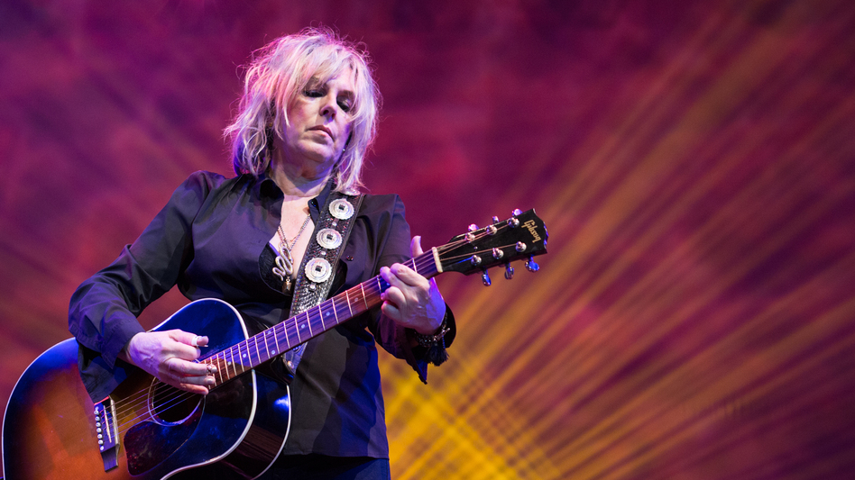 Lucinda Williams performs at Lincoln Center Out Of Doors. (Ebru Yildiz for NPR)