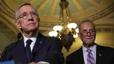 As He Leaves The Senate, Harry Reid Says He's 'Hopeful' On Trump