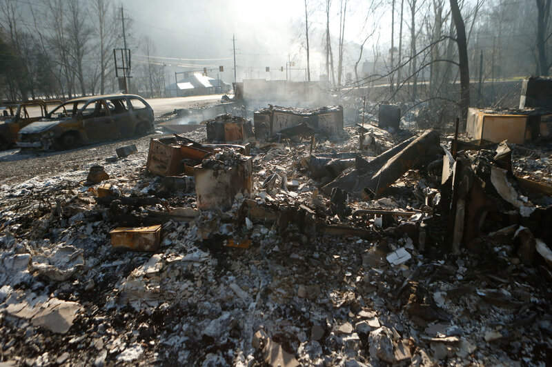 Gatlinburg Wildfire: 2 Juveniles Charged With Arson : The ...