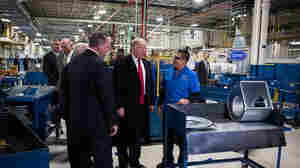 Trump Takes Aim At Union Official Over Carrier Job Count