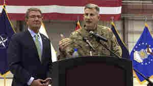 Defense Secretary Ash Carter Makes Surprise Visit To Afghanistan