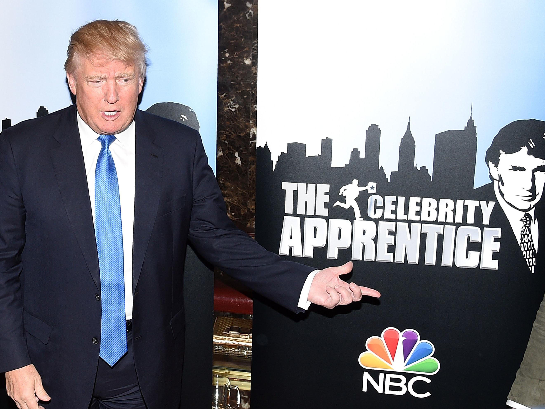 Trump S Continued Ties To Celebrity Apprentice Raise